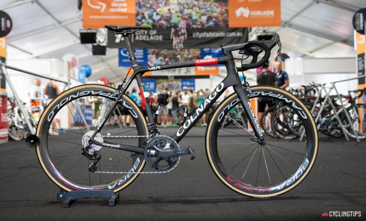 La bici de Emiratos Arabes
