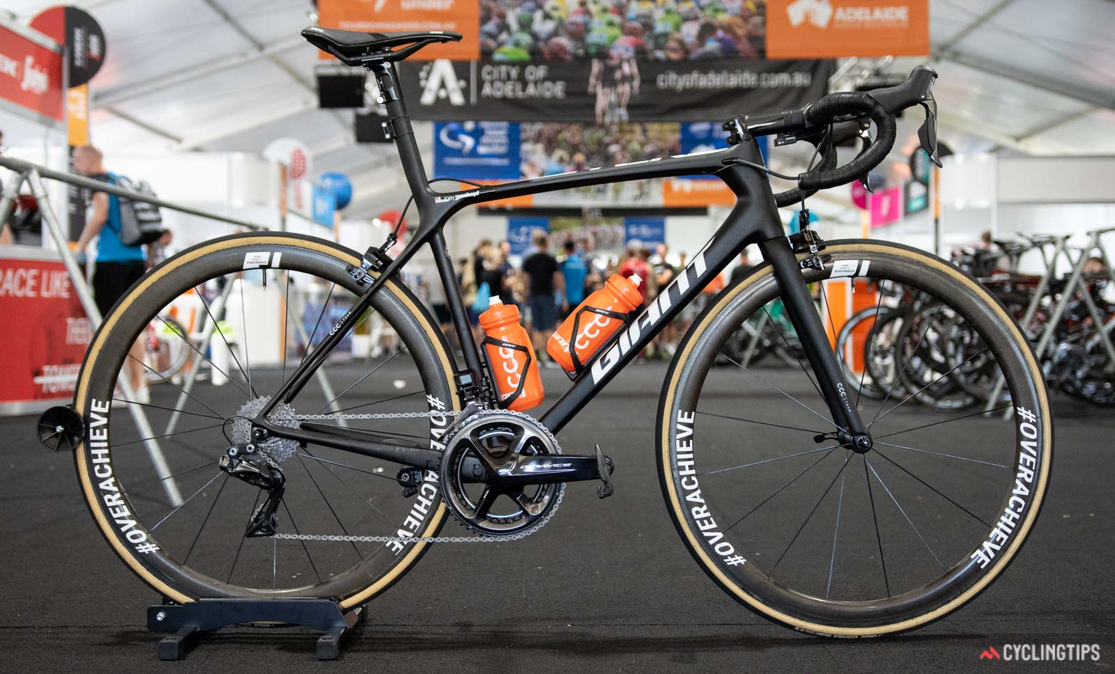 La bicicleta del Team CCC