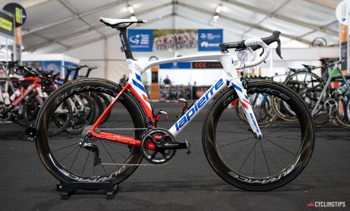 Bicicletas del Groupama