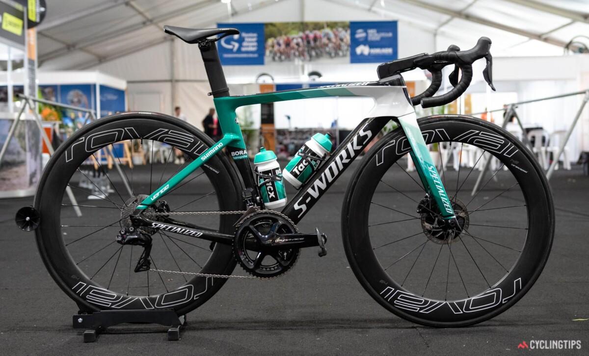Bicicleta del Team Bora