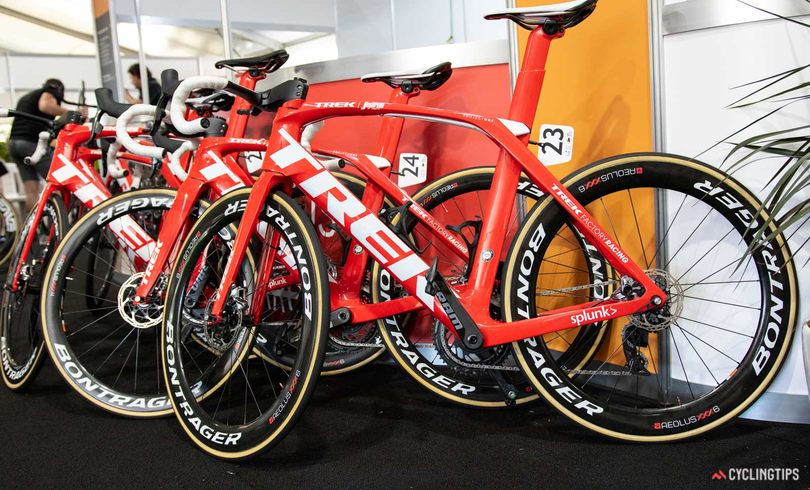 Bicicleta del equipo Trek-Segafredo