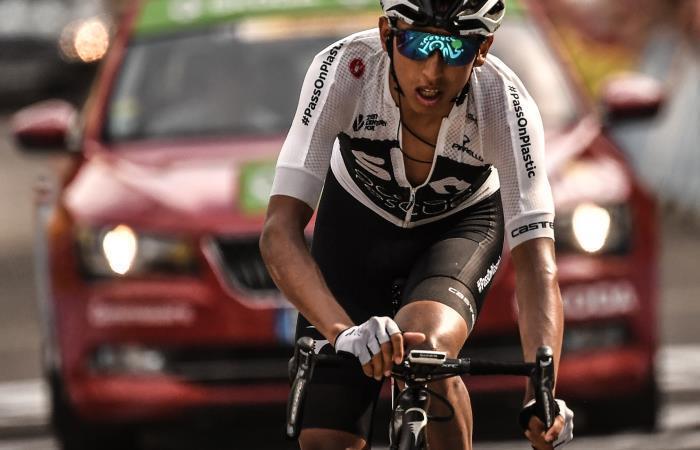 Egan Bernal del Sky tiene muchi por dar en el Tour Colombia 2.1