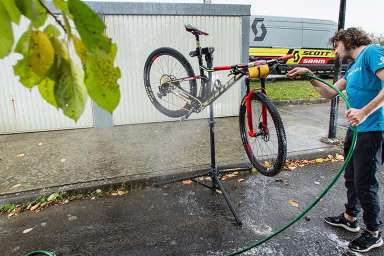Retomando la rutina en bicicleta