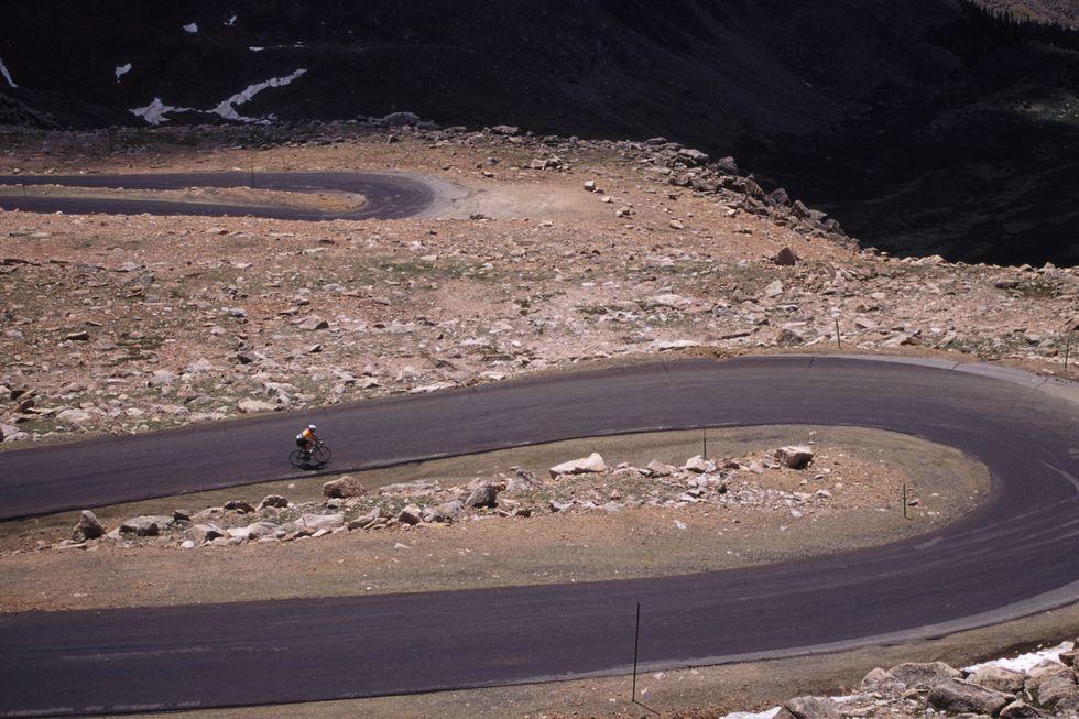 Mount Evans, Colorado, subida