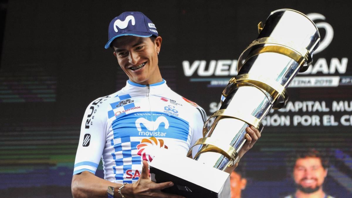 Winner Anacona, líder del Movistar en Colombia