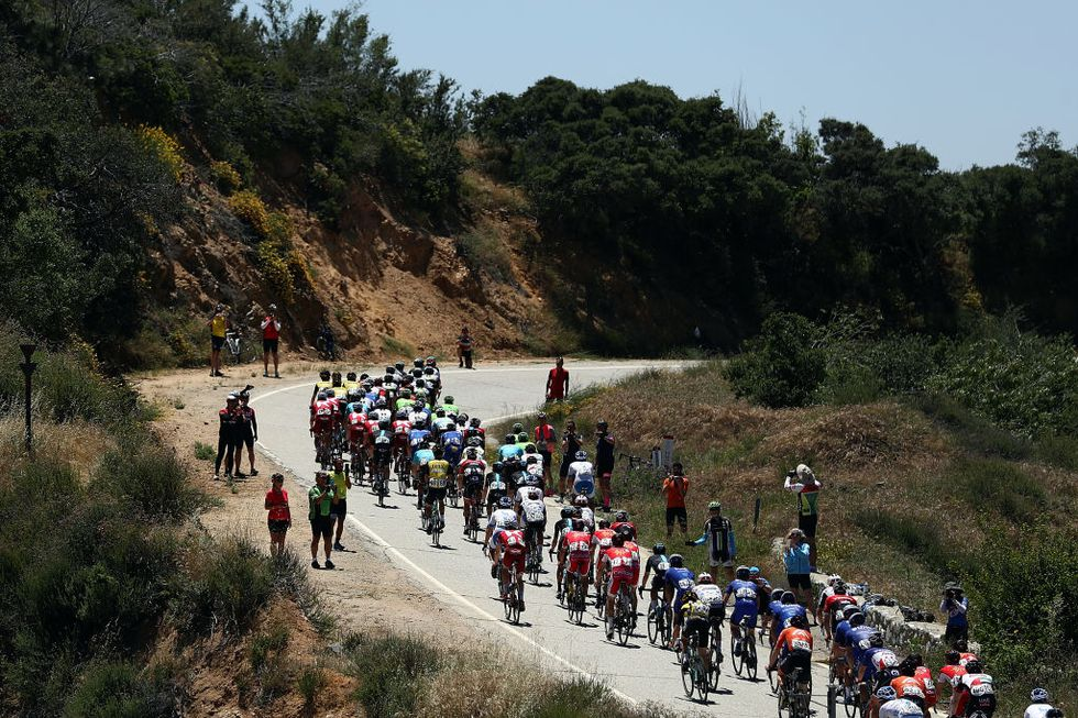 Subidas azarosas del mundo del ciclismo