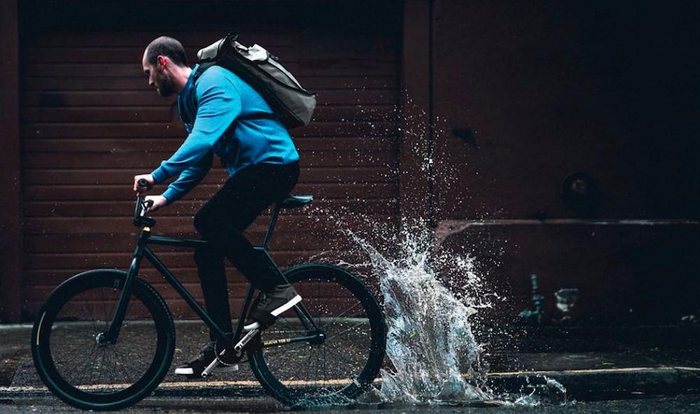 Instala un guardabarros en tu bici