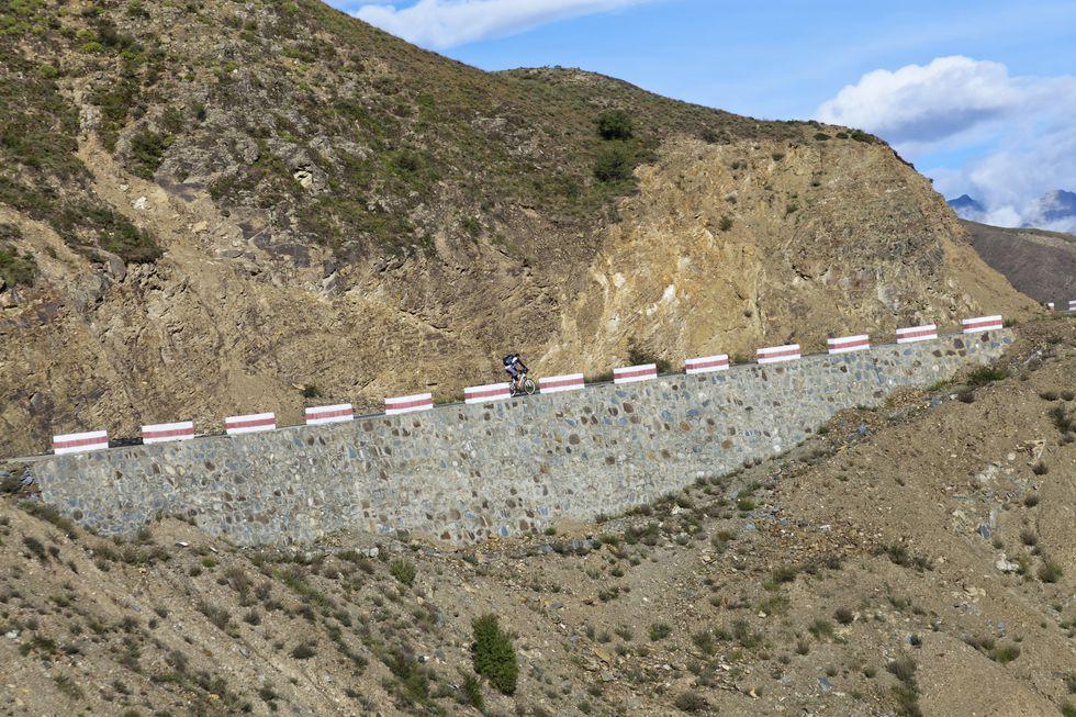 Tong La Pass, Tibet, subidas