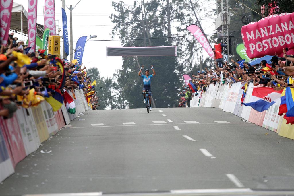 Anacona abrió el camino para que Nairo ganara en Palmas