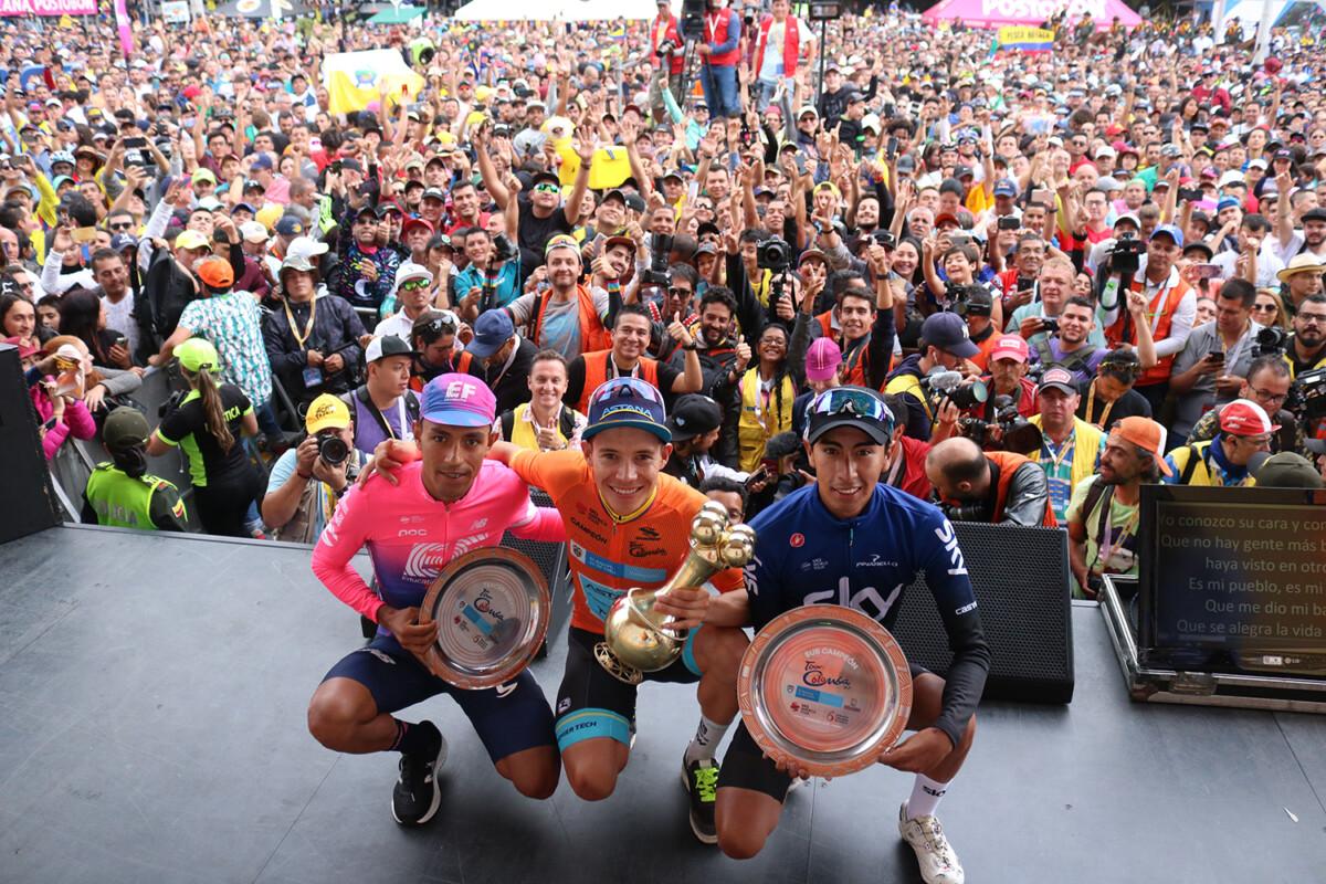 Bernal, Martínez y Superman conquistaron la carrera colombiana.