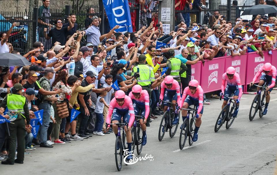 Planimetría de etapas del Tour Colombia