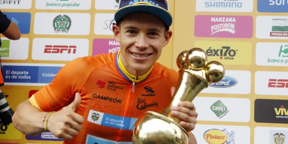 Superman campeón del Tour Colombia 2.1