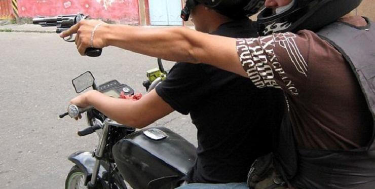 Robo de bicicletas bajo modalidad pato en la moto
