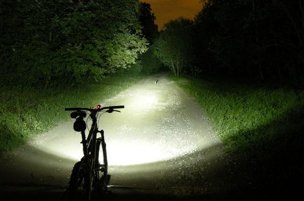 Ilumina la vía en las temporada de invierno
