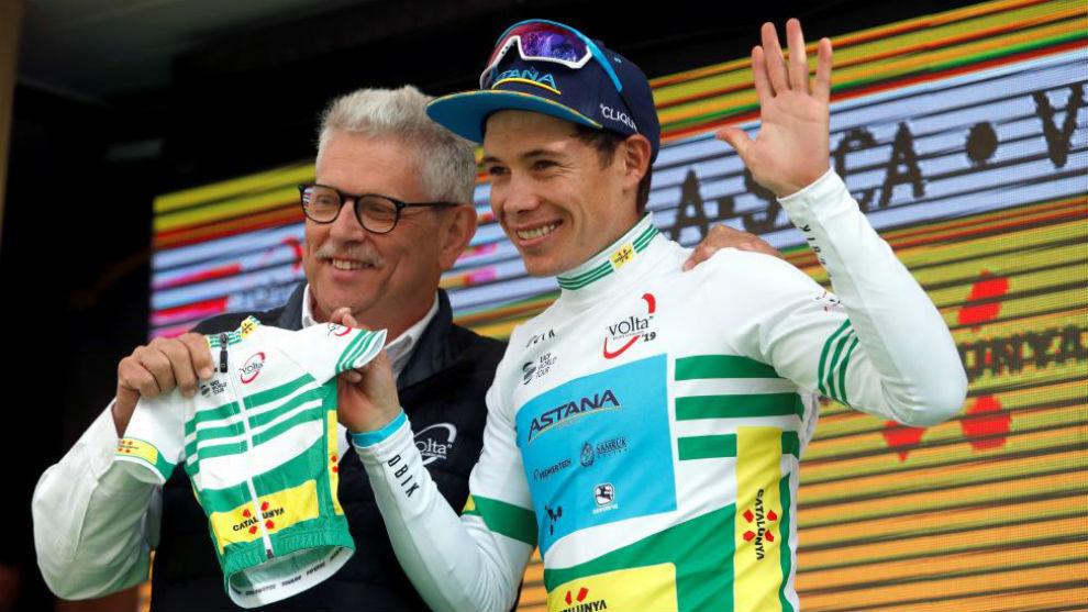 El colombiano dedicó su triunfo a su hijo