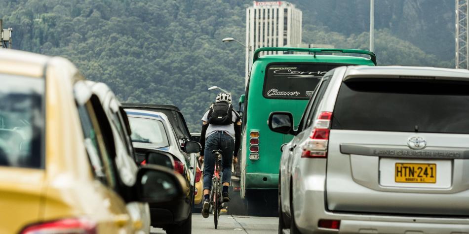 Los riesgos de ir en bicicleta en la ciudad