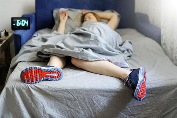 Échate una dormidita y llega listo a la carrera