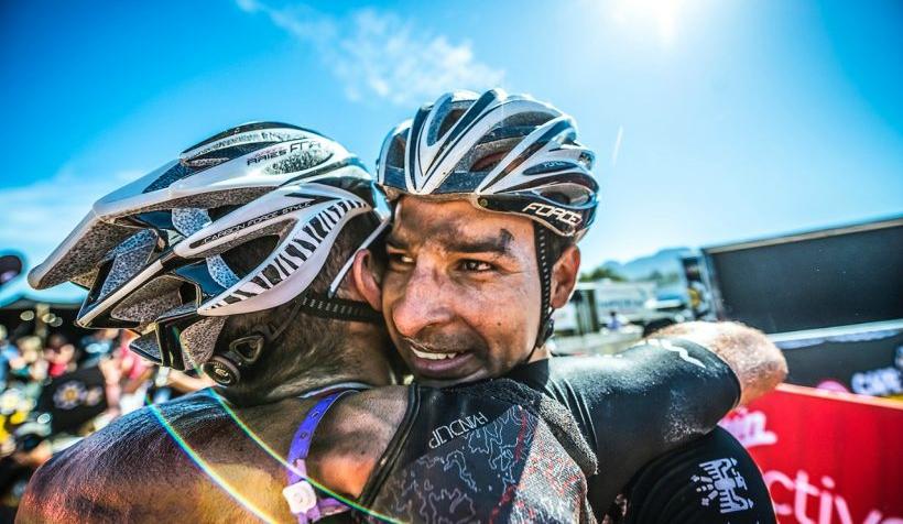 El pedalista internacional de ciclomontañismo Luis Anderson Mejía
