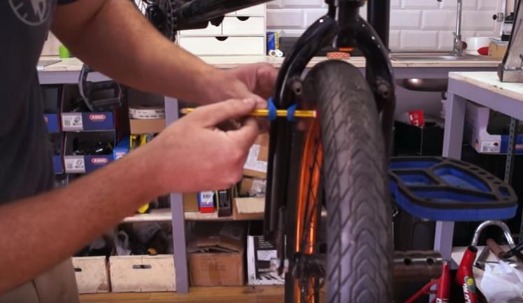 Aprende a reparar la rueda de la bicicleta
