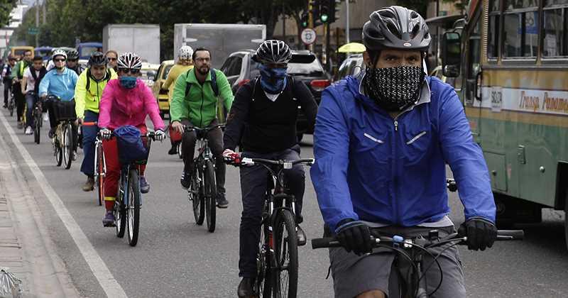 Ciclismo y mala calidad del aire