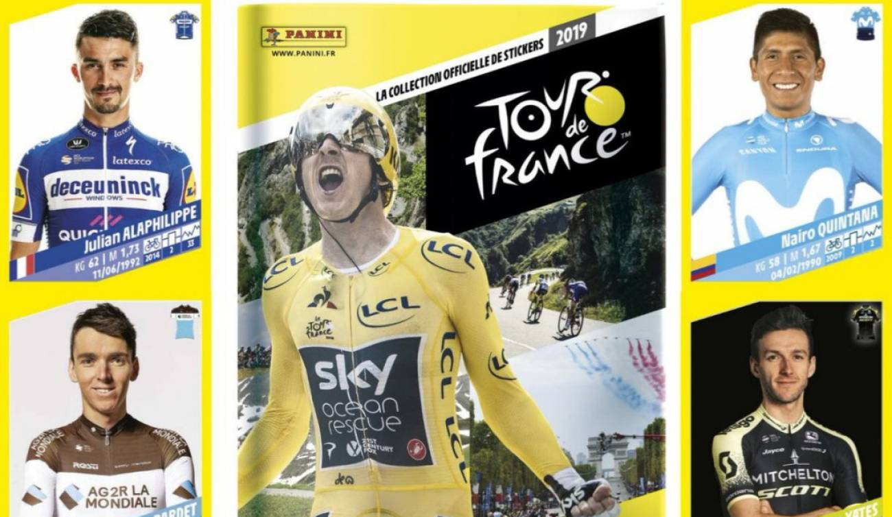 Álbum de ciclismo Panini edición Tour de France