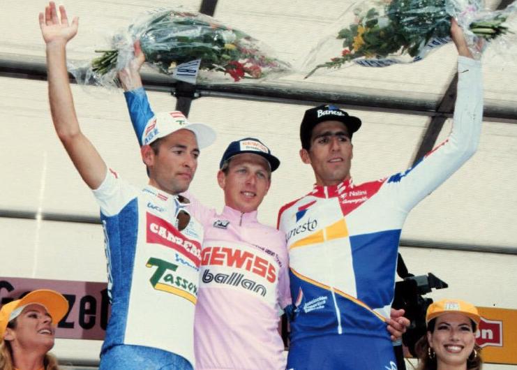 El Giro y el podio de 1994