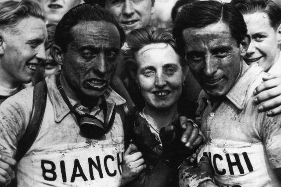 Los Coppi en la París-Roubaix de 1949