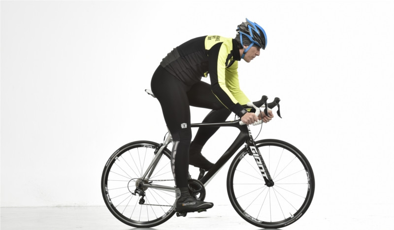 Postura adecuada sobre la bici