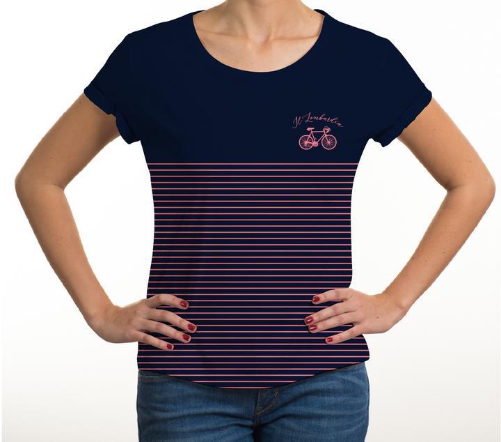 Camisetas de la carrera de los dos mares, prendas casuales para las mujeres más tesas del ciclismo