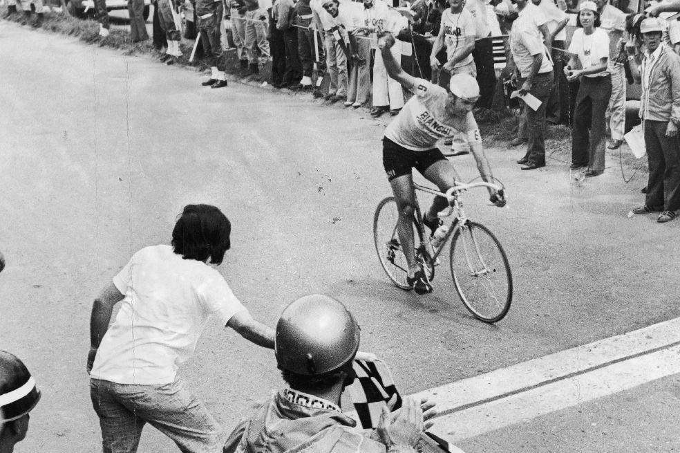 Martín Emilio abrió el camino en el Giro