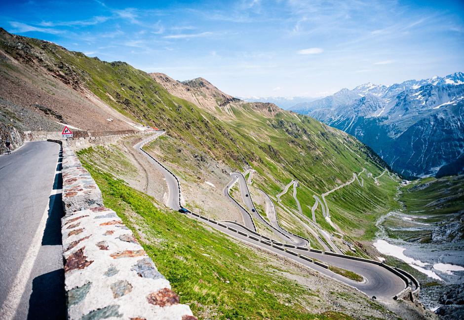 El monte Stelvio del Giro de Italia