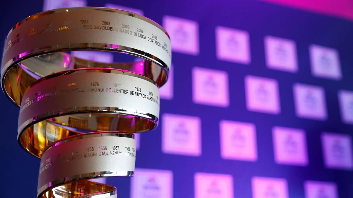 El trofeo del Giro