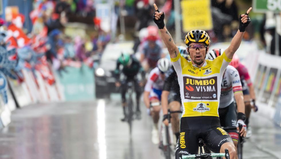Roglic, favorito número 1 al podio final en Verona