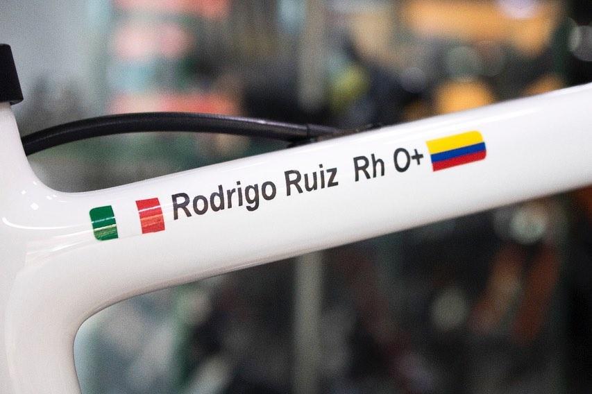 Bicicleta de Rodrigo