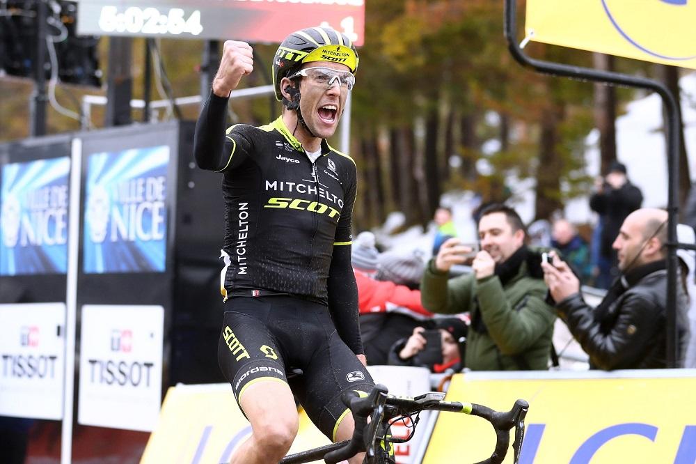 El británico favorito al título del Giro de Italia
