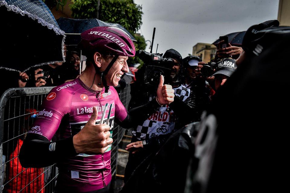 Pascal con dos etapas ganadas en el Giro