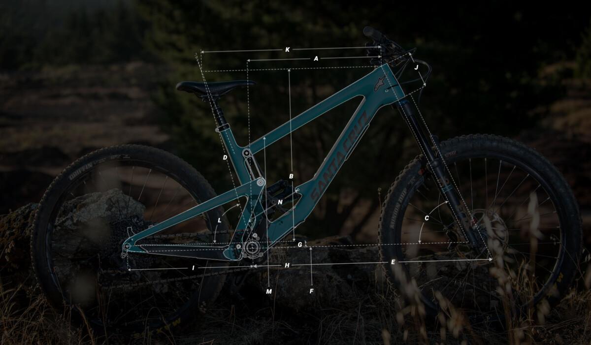Medidas de la bici