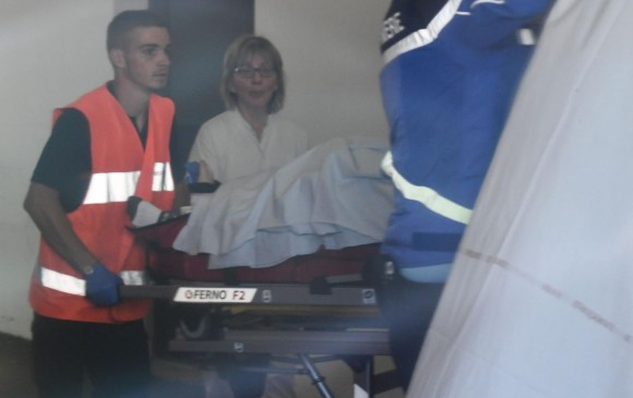 Froome es enviado al hospital