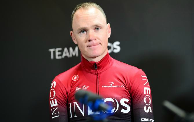 Froome fuera del Tour