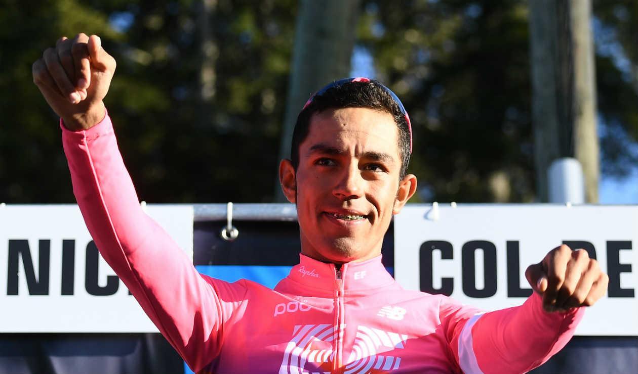 Daniel Martínez no irá al Tour