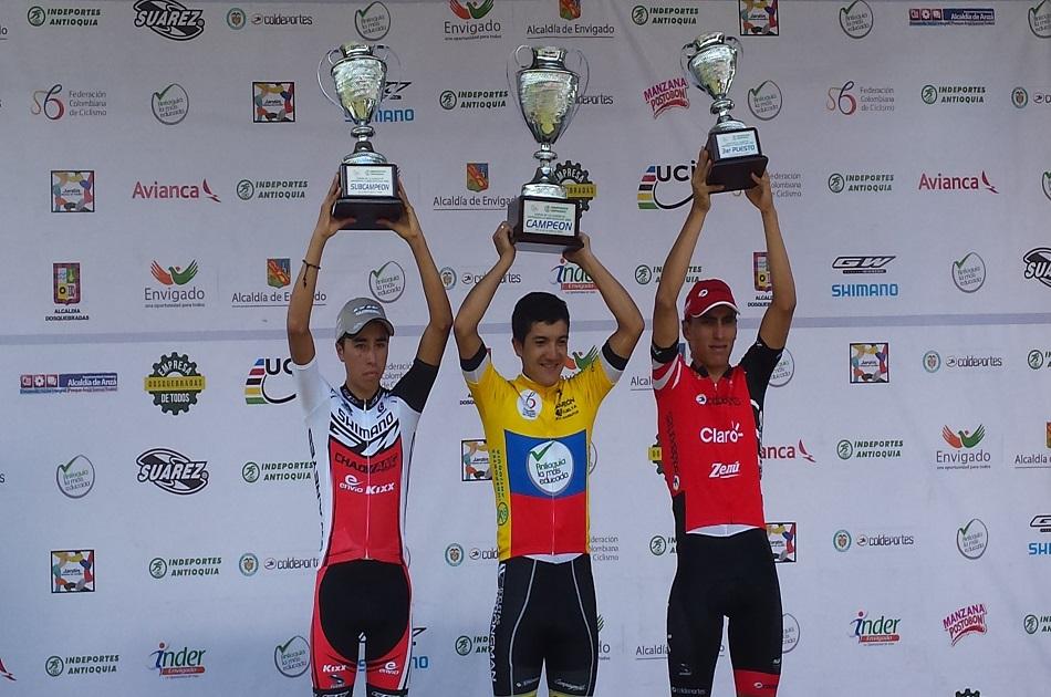 Carapaz fue campeón en Colombia