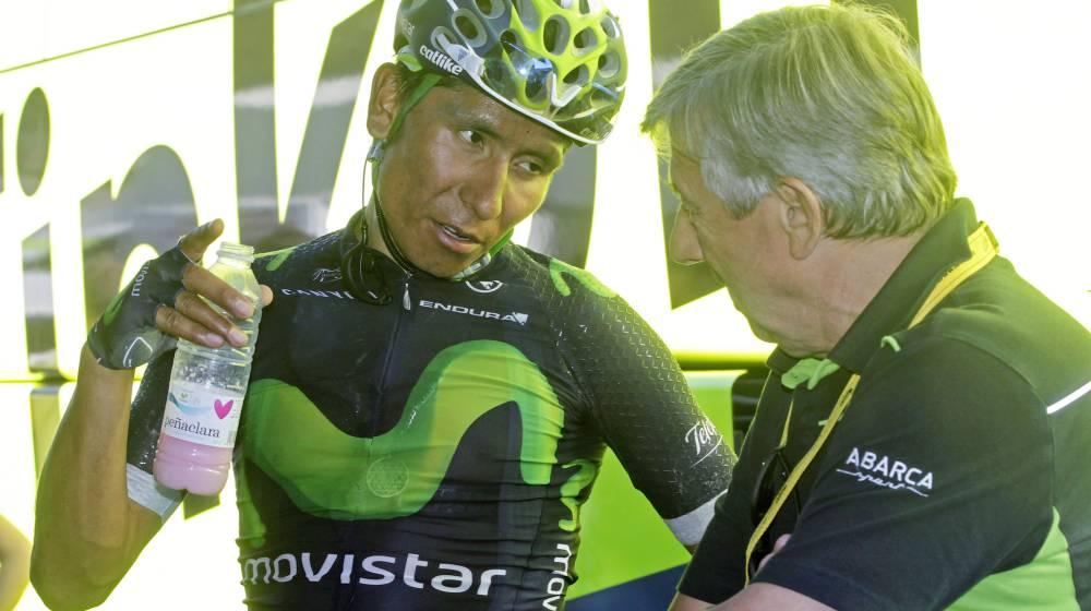 Quintana abandonará el Movistar al final de esta temporada