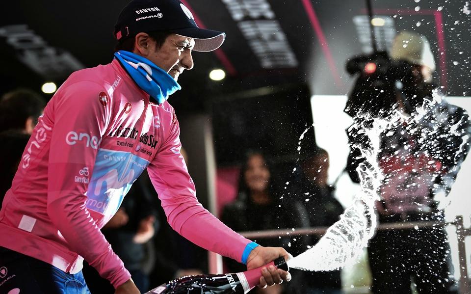 Richard Carapaz fue el campeón del Giro de Italia