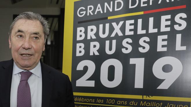 Merckx ganó 5 Tours en su historia