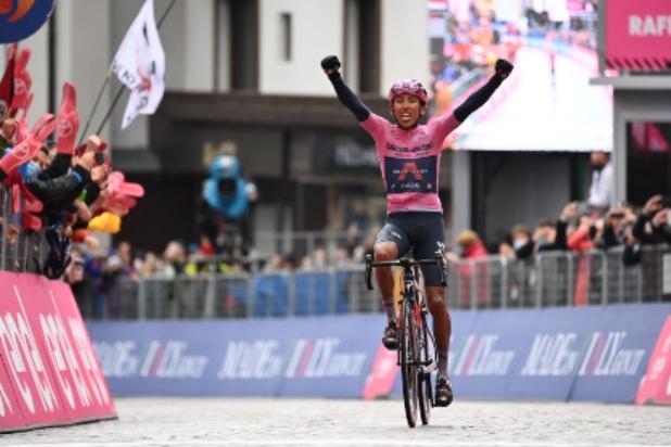 Egan Bernal, campeón del Giro de Italia