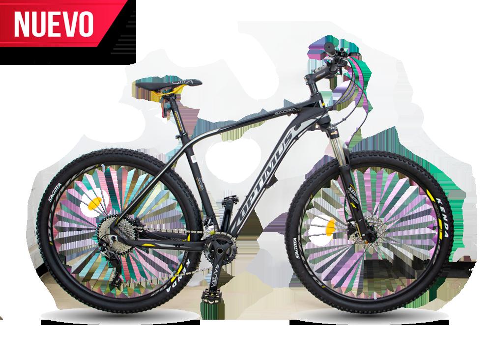Bicicleta negro / amarillo