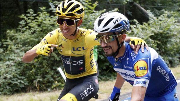 Egan en el Ranking mundial de la UCI