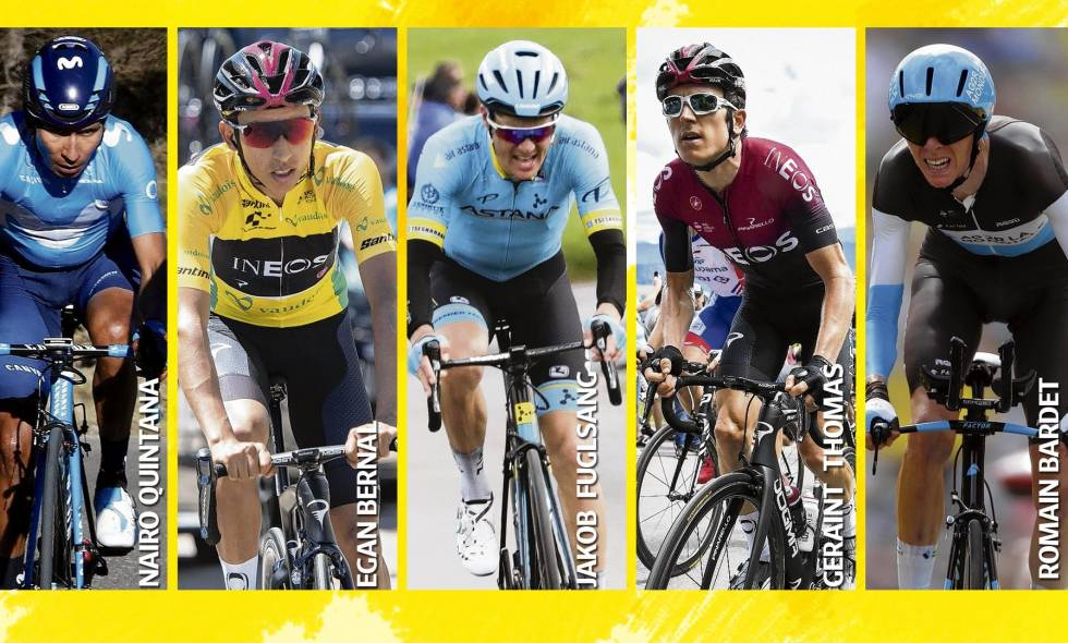 Candidatos al Tour de France