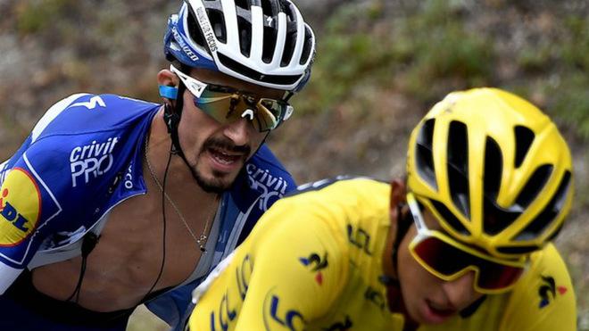 Bernal acabó al francés en el Tour