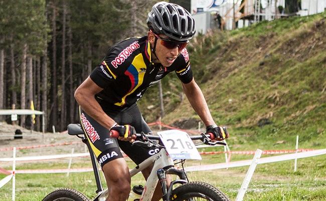 El corredor de Zipaquirá arrancó en el mountainbike